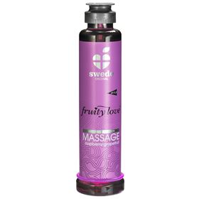Swede Fruity Love Massageolie - Hindbær/Grape - 200 ml