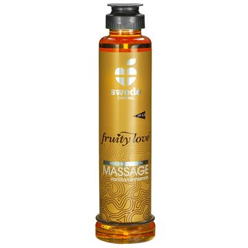 Swede Fruity Love Massageolie - Vanilje/Kanel - 200 ml